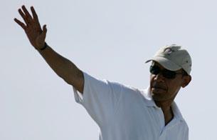 Ver v?deo  'Los Obama terminan sus vacaciones y se mudan a un hotel de Washington'