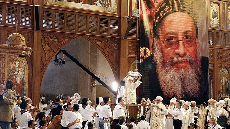 El obispo egipcio Tauadros es elegido papa de la Iglesia copta