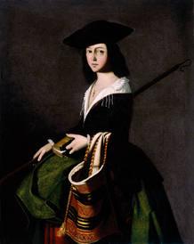 La obra 'Santa Marina', de Francisco de Zurbarán, será una de las pinturas que estarán en el Museo Colección Carmen Thyssen-Bornemisza de Málaga, que prevé abrir sus puertas en la próxima primavera.