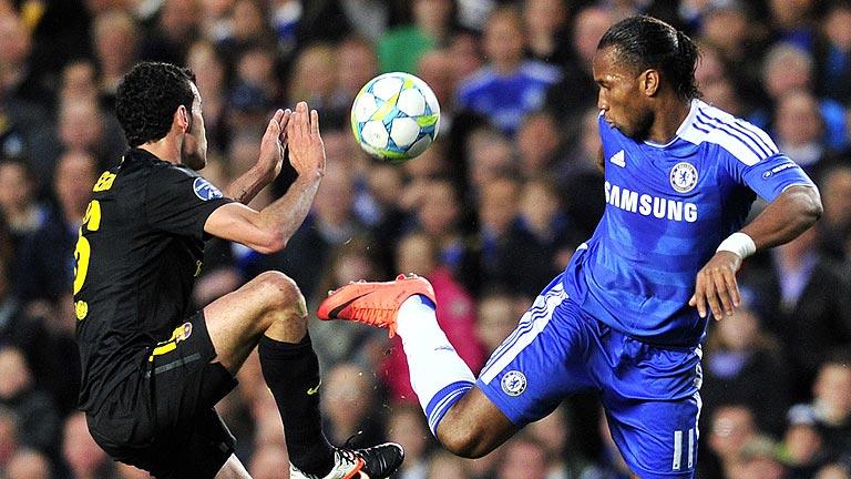 Una ocasión del Chelsea le da la victoria ante el Barça