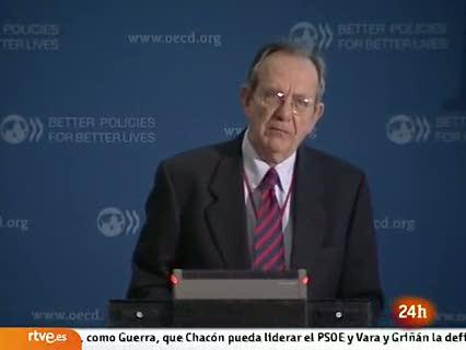 Ver vídeo  'La OCDE alerta de una gran depresión en la eurozona'