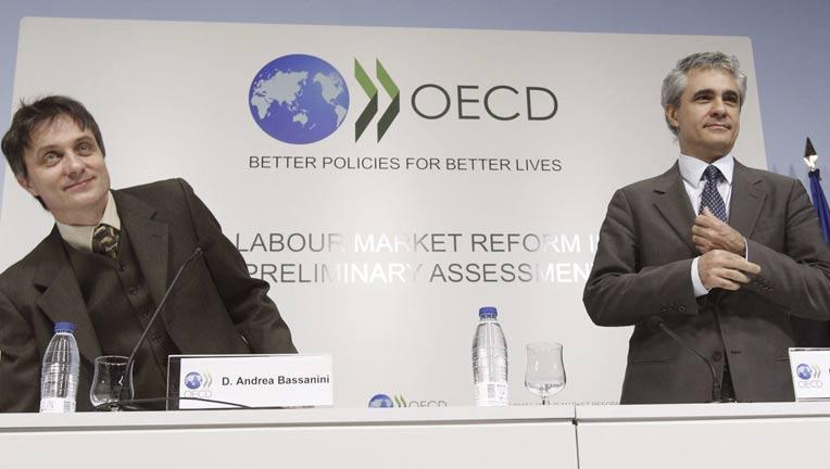 La OCDE cree que la reforma laboral va en la dirección correcta