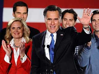 """Ver vídeo  'Ocho votos dan la victoria a Romney en los """"caucus"""" r"""