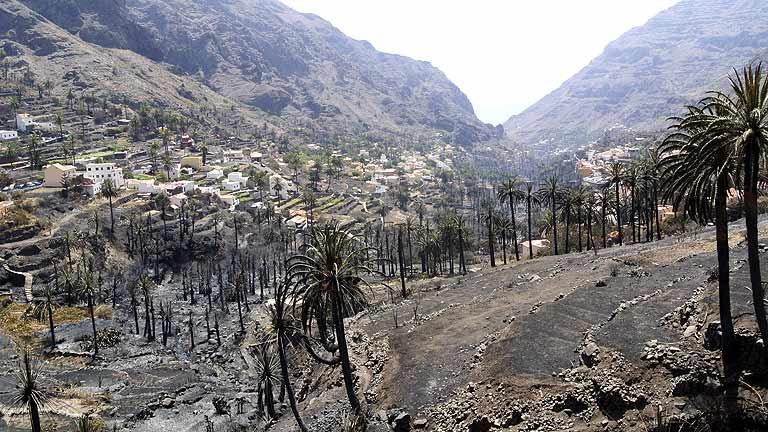 La ocupación hotelera cae al 20% en La Gomera por los incendios