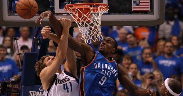Oklahoma City Thunder v Dallas Mavericks - Game Four
