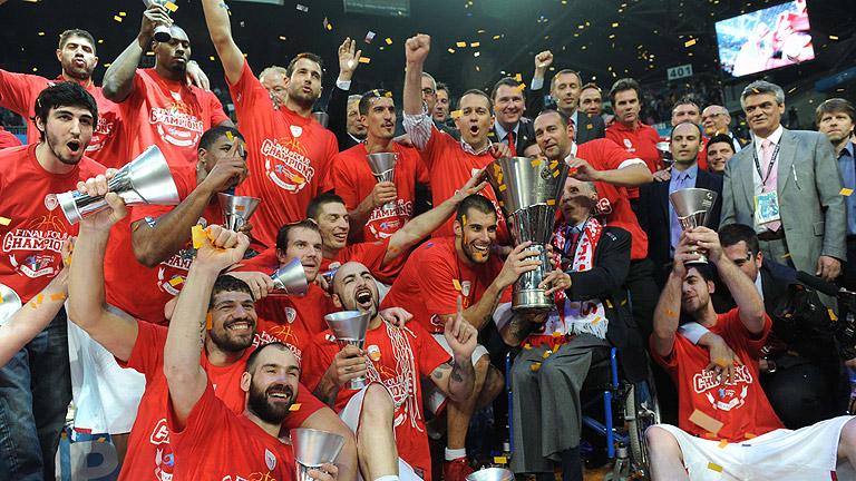El Olympiacos gana la Euroliga