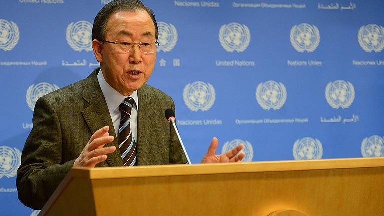 La ONU invita a Irán a la conferencia de Ginebra 2 para la paz en Siria