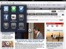 Opciones para compartir en iOS 6