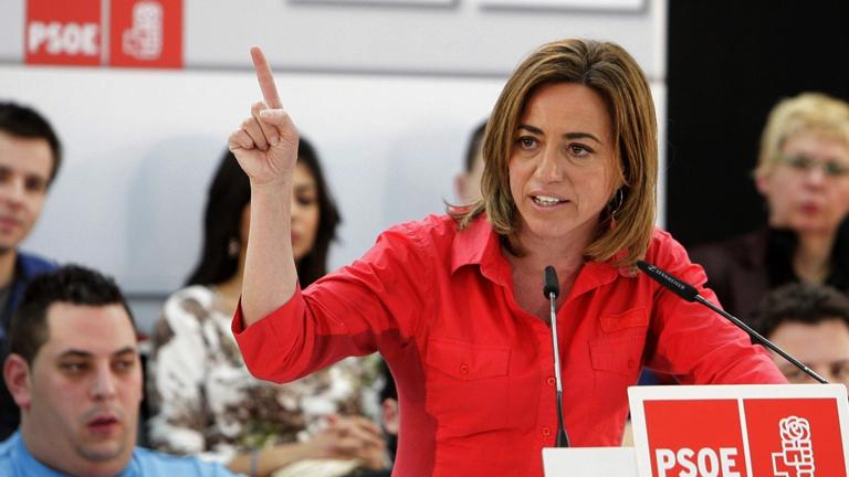 Carme Chacón cree que el Partido Popular cede ante las políticas de la derecha europea