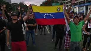 Ver vídeo 'La oposición celebra una marcha en Venezuela para entregarse a la fiscalía'