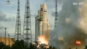 Ver vídeo  'En órbita un nuevo satélite de Meteosat que suministrará imágenes más nítidas'