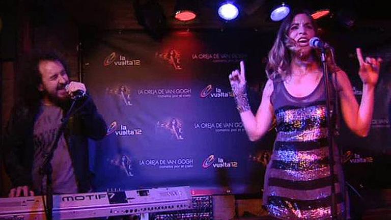 La Oreja de Van Gogh canta en exclusiva para TVE la canción de la Vuelta ciclista a España 2012