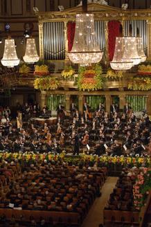 La Orquesta Filarmónica de Viena es la encargada de ofrecer cada año el Concierto de Año Nuevo más seguido del mundo.