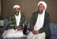 Osama bin Laden y Ayman al-Zawahiri