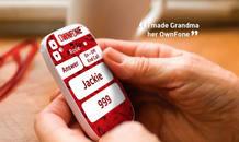 Los niños y las personas mayores pueden elegir un diseño con tan solo un par de botones para realizar llamadas fáciles y sin complicaciones.