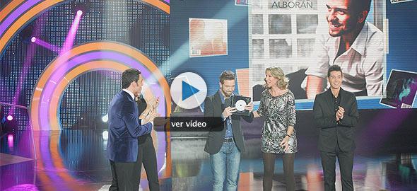 Pablo Alborán es el ganador del Disco del año 2011 de TVE