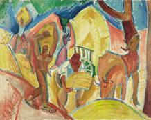 Pablo Picasso. 'Los segadores'