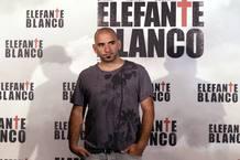 Pablo Tarpero en la presentación de la película en Madrid.