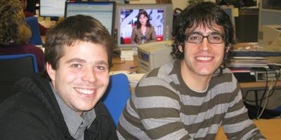 Pablo Tébar y Carlos de Pando