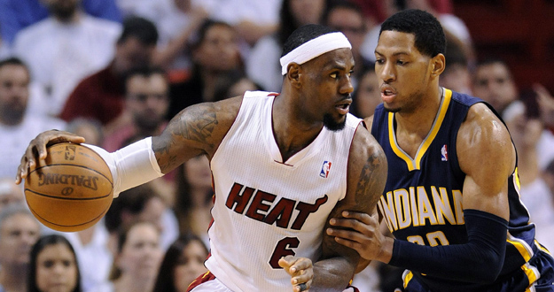 PACERS DE INDIANA VS. HEAT DE MIAMI