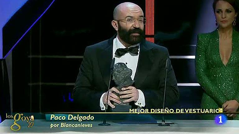 Paco Delgado, Goya al Mejor Diseño de Vestuario por 'Blancanieves'