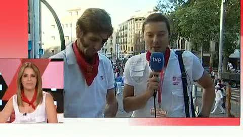 Ver vídeo  'Padilla cerrará San Fermín con la lidia de los Torrehandilla'