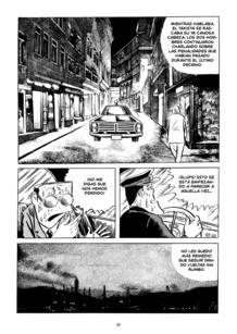 Página de '3,Calle de los misterios', de Shigeru Mizuki