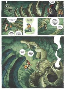 Página de 'Alicia en el país de los monos', de Tebo y Keramidas