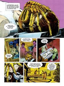 Página de 'Alien: La historia ilustrada' , de Archie Goodwin y Walter Simonson