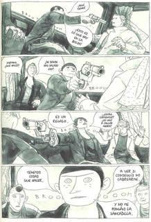 Página de 'Apuntes para una guerra, de Gipi