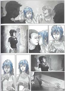 Página de 'El azul es un color cálido', de Julie Maroh