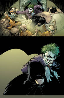Página de 'Batman', de Scott Snyder y Greg Capullo