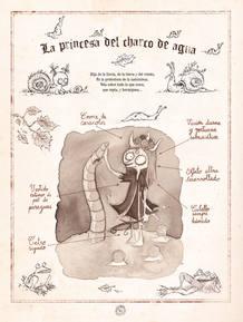 Página de 'Billy Brouillard, el don de la vista confusa', de Guillaume Bianco