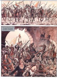 Página de 'Los Borgia 4: Todo es vanidad' de Alejandro Jodorowsky y Milo Manara