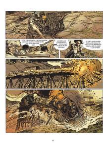 Página de 'Bouncer', de Jodorowsky y Boucq