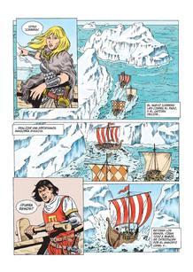 Página de 'El Capitán Trueno: Atlántida', de Ricard Ferrándiz
