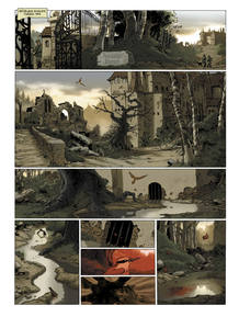 Página de 'La casa de los susurros', de Muñoz, Tirso y Montes