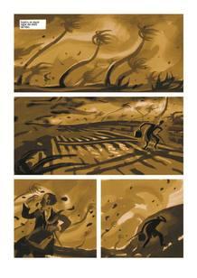 Página de 'Ciudad de barro', de Milan Hulsing
