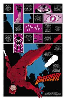 Página de 'Daredevil', de Mark Waid y Marcos Martín