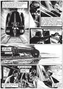 Página del cómic 'La Douce', de François Schuiten