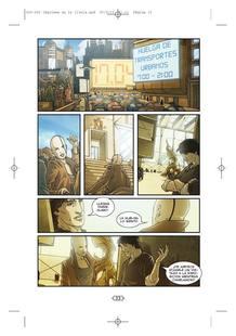 Página del cómic 'Lágrimas en la lluvia', de Rosa Montero, Damián Campanario y Alessandro Valdrighi