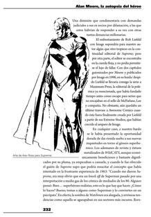 Página del libro con un dibujo de Supreme