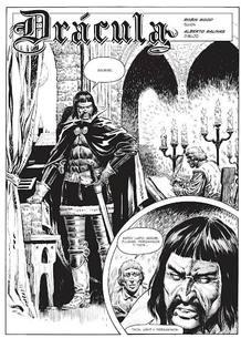 Página de 'Drácula', de Robin Wood y Alberto Salinas