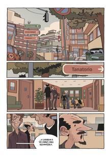 Página de 'El duelo', de Esteban Hernández