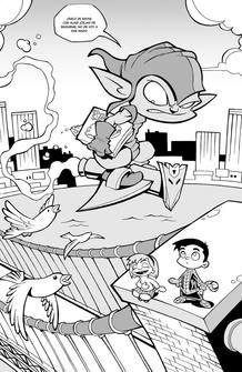 Página de 'Espiderman 5', de Enrique Vegas