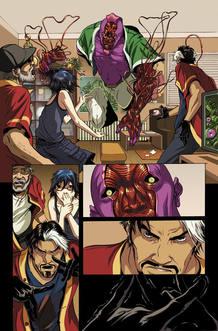 Página de 'Extraño', de Mark Waid y Emma Ríos