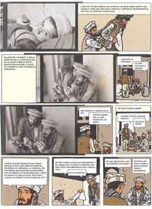 Página de 'El fotógrafo', de Didier Lefèvre y Emmanuel Guibert