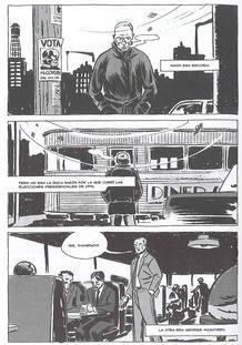Página de 'Gonzo. La historia gráfica de Hunter S. Thompson'