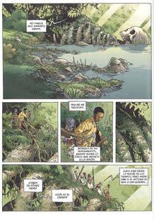Página de 'El gran muerto', de Loisel y Mallié
