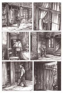 Página de 'Haarmann, el carnicero de Hannover', un asesino en serie, de Peer Meter & Isabel Kreitz